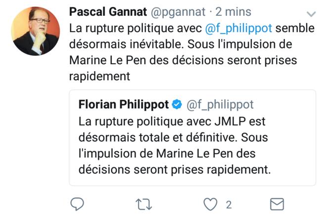 © Compte Twitter de Pascal Gannat