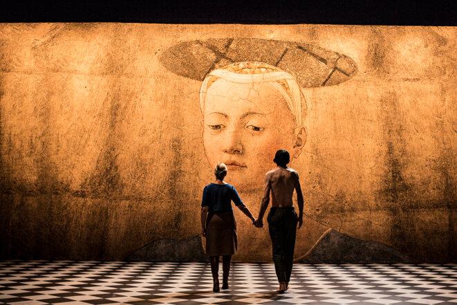 """Scène de """"Tarkovski, le corps du poète"""" © Jean-Louis Fernandez"""