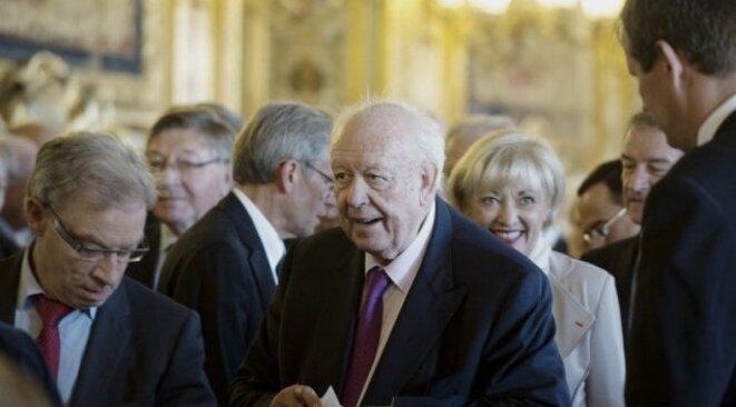 Jean-Claude Gaudin, sénateur et maire de Marseille, président du groupe UMP jusqu'en 2014. © Reuters