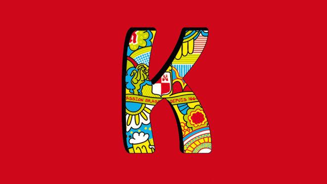 Logo K © Bière Kronenbourg