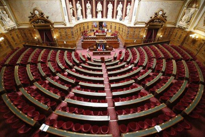 Le Sénat, châtelain de la République. © Reuters