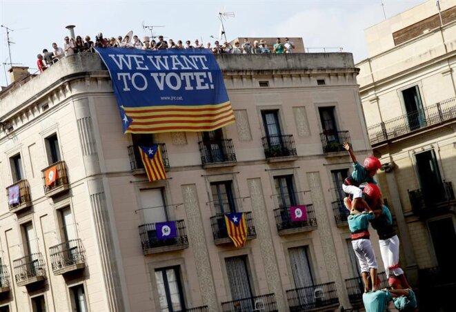 Barcelona, 24 de septiembre de 2017. © infoLibre