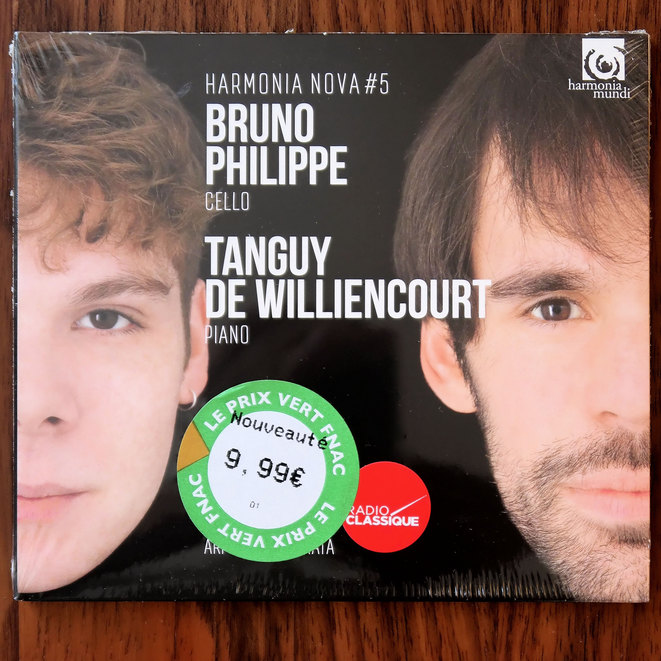 Bruno Philippe violoncelle, Tanguy de Williencourt piano