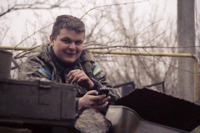 Daniel Kasyanenko, 19 ans, a déclaré qu'il était allé à la guerre pour combattre une invasion russe. (Photo: Courtoisie de Marina et Konstantin Kasyanenko)