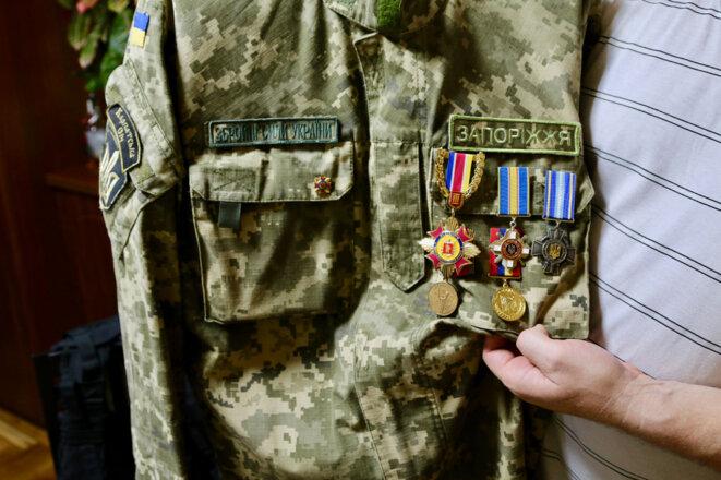 Daniel Kasyanenko est décédé le 6 août 2015, lorsqu'un mortier a frappé à l'intérieur de sa tranchée dans l'est de l'Ukraine (Photo: Nolan Peterson/The Daily Signal).