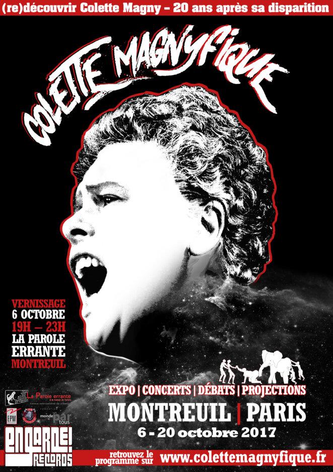 Le festival Colette Magnyfique, du 6 au 20 octobre 2017 à Montreuil et Paris © En Garde! Records