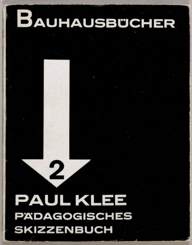 Paul Klee - Carnet pédagogique pour l'école du Bauhaus, 1925