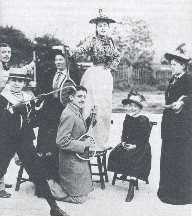 Prémices de air guitar? Proust à l'âge de 20 ans, en 1891.