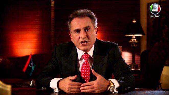 Hassan Tatanaki, le milliardaire libyen qui a fait travailler l'ancien procureur de la CPI. © DR
