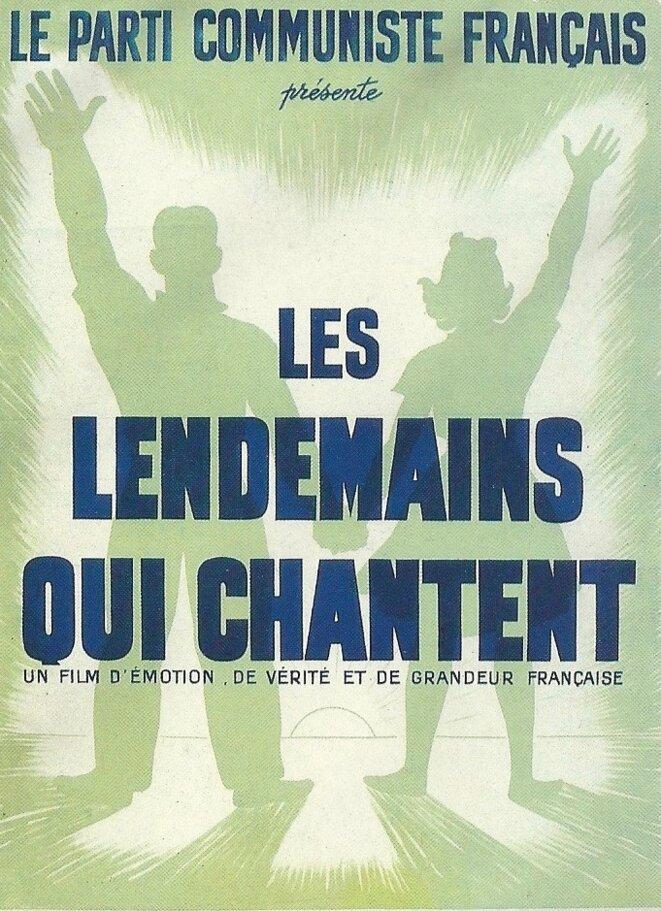 Affiche du film Les lendemains qui chantent © @Ciné-Archives