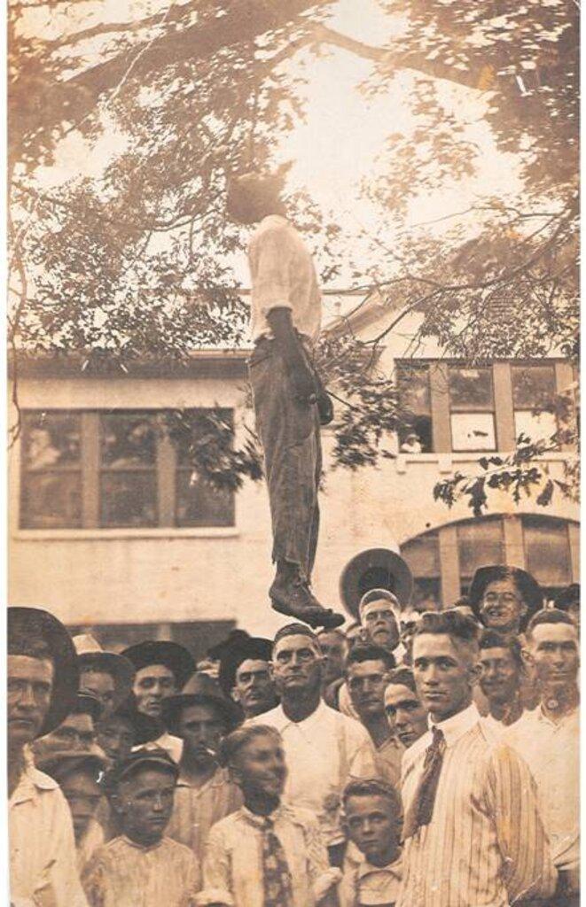 Lynchage de Lige Daniels au Texas en 1920