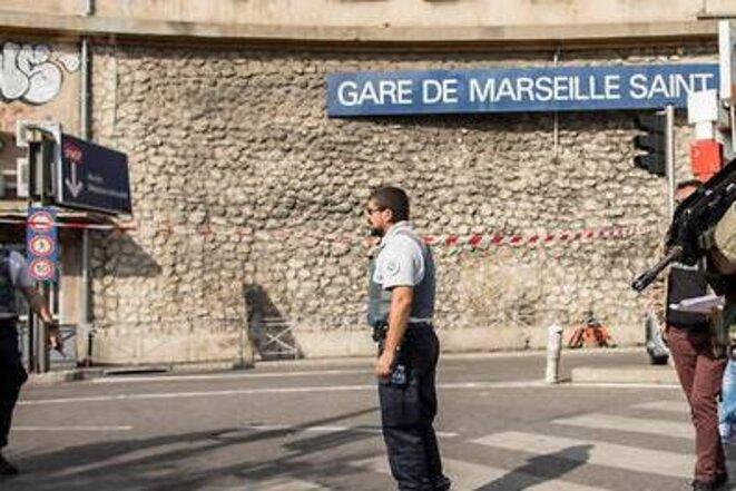 Gare de Marseille Saint Charles cet AM