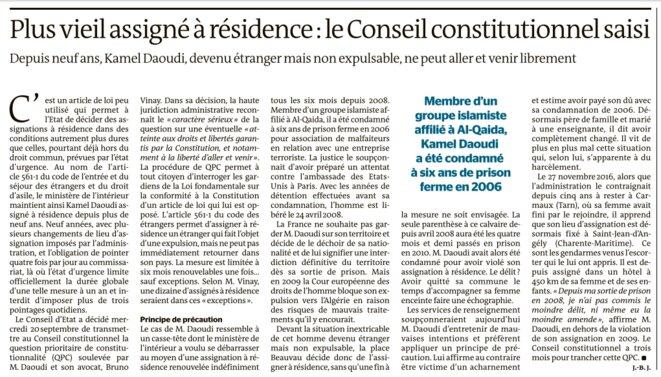 Article de Jean-Baptiste Jacquin © Le Monde