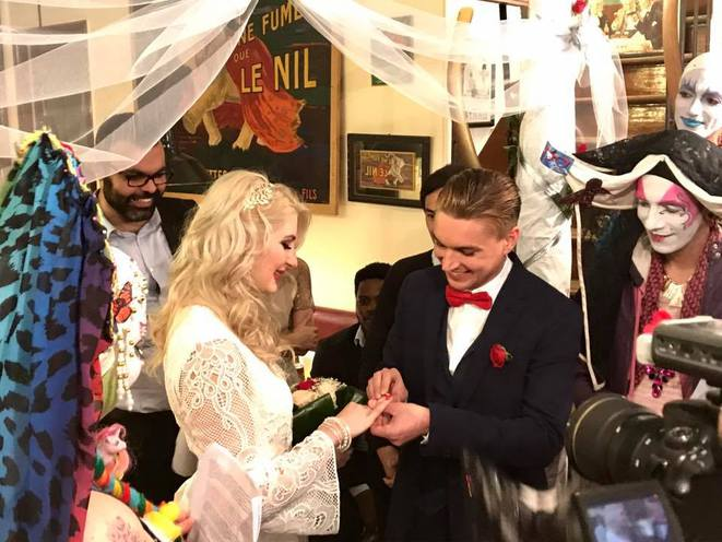 Mariage de la charité d'Inna et Denis © Mortaza BEHBOUDI