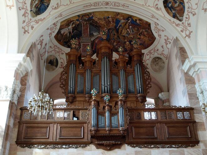Orgues Silbermann, église abbatiale Saint Maurice d'Ebersmunster