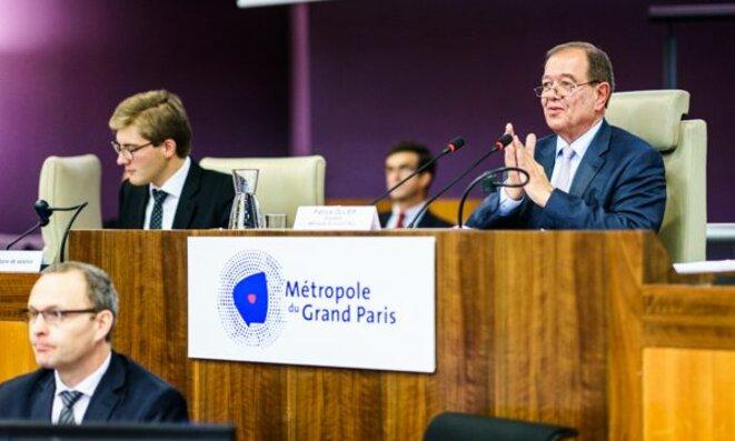 Patrick Ollier a été élu en janvier 2016 président de la métropole du Grand Paris. © DR