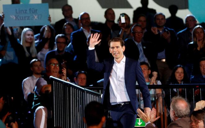 Sebastian Kurz, le 23 septembre 2017. © Reuters