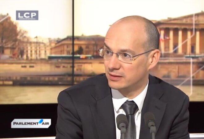 Stéphane Lardy en 2014. © Capture d'écran LCP
