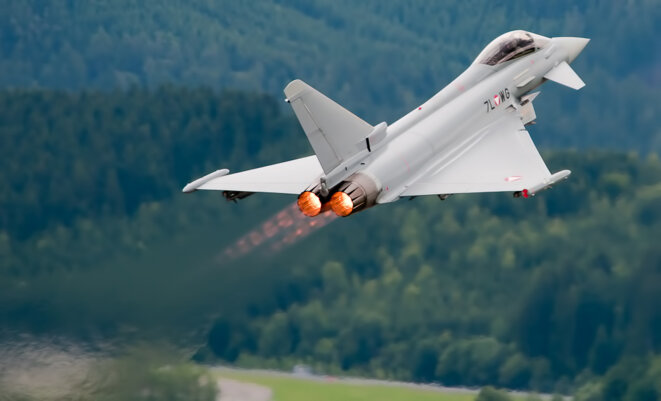 Sales fuelled by a slush fund? The Eurofighter Typhoon. © Wikimedia / Creative Commons