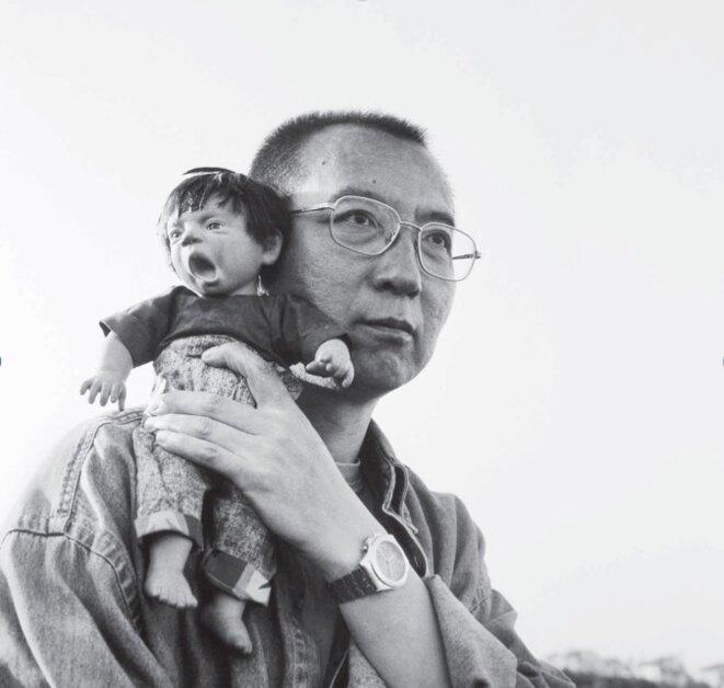 Liu Xiaobo, photographié par son épouse Liu Xia