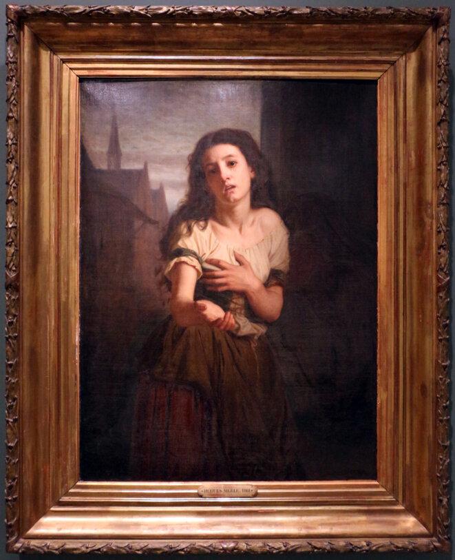 Une mendiante, par Hugues MERLE, Musée d'Orsay © Hughes MERLE (1822 - 1881)