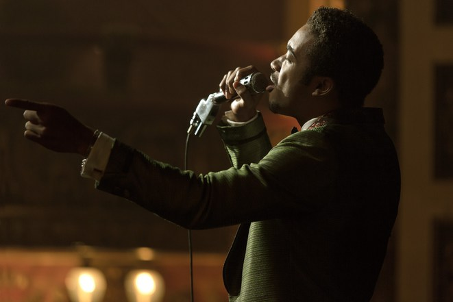 Larry, chanteur des Dramatics (Algee Smith), dans « Detroit ».