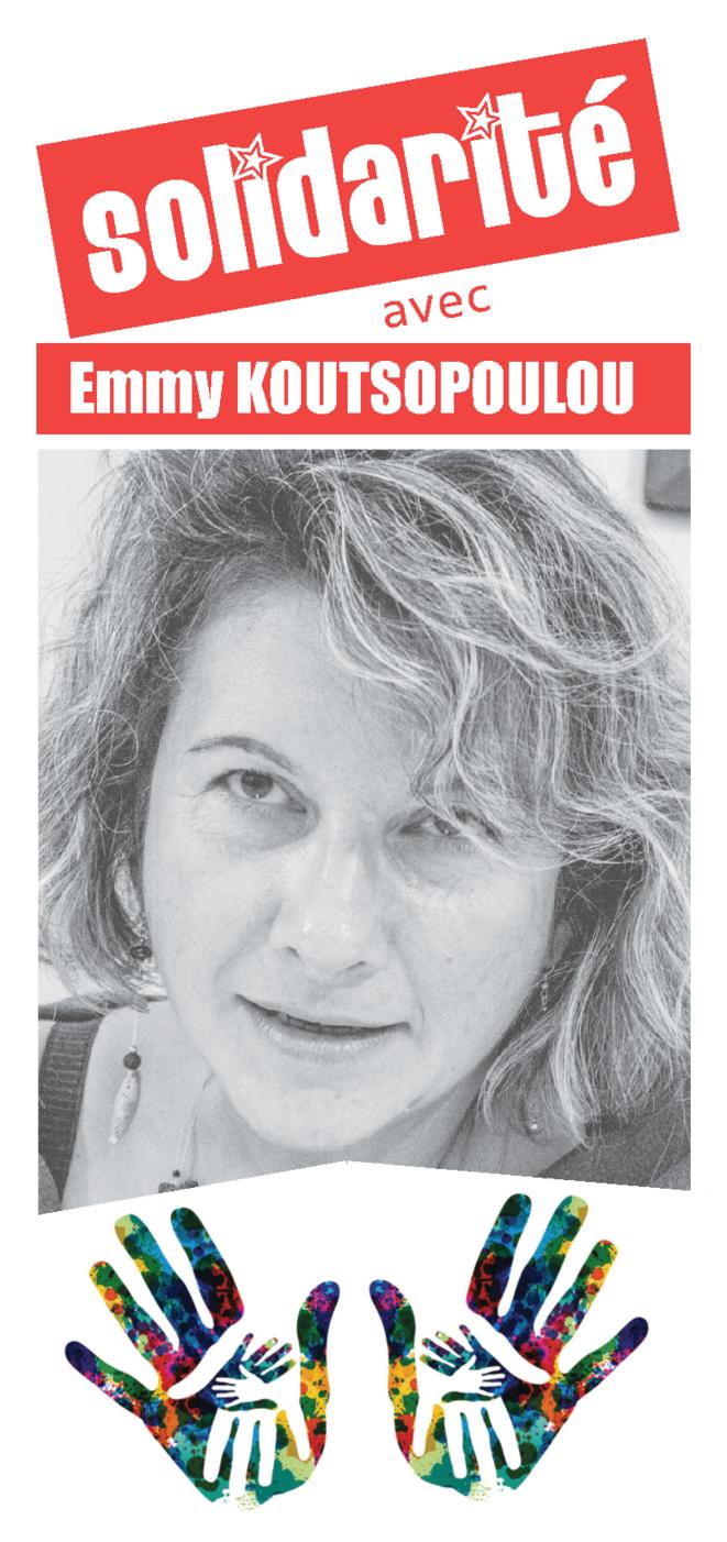 Solidarité avec Emmy Koutsopoulou