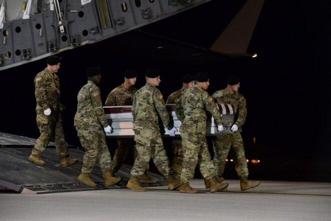 Quatre soldats américains et trois soldats nigériens ont été tués dans une embuscade au Niger, le 4 octobre © US Air Force