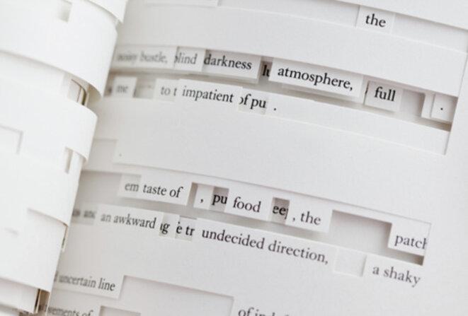 """Jonathan Safran Foer, """"Tree of Codes"""", Visual Editions"""