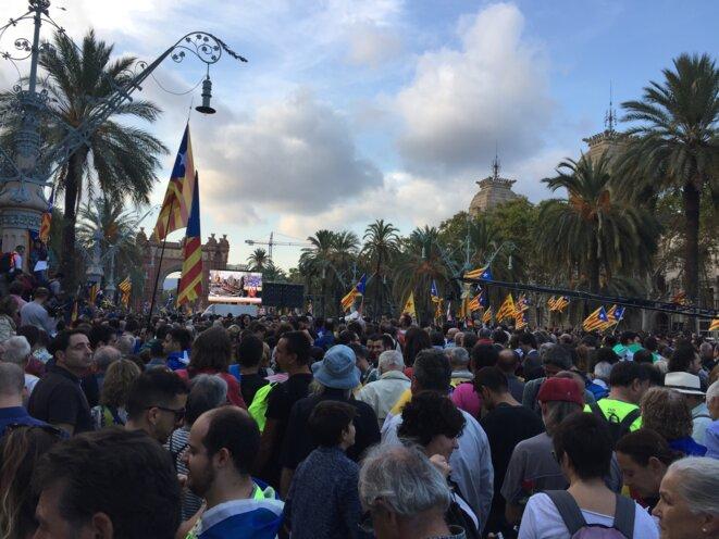 Scène de la manifestation du 10 octobre. © DR