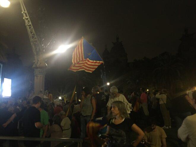 Fin de soirée à Barcelone le 10 octobre. © DR