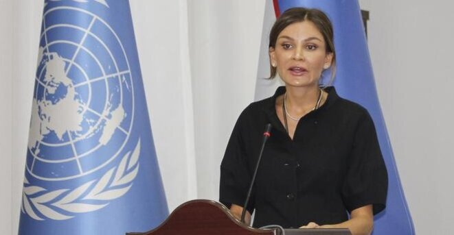 Lola Karimova, fille du dictateur ouzbek Islam Karimov, mort en 2016. © Reuters