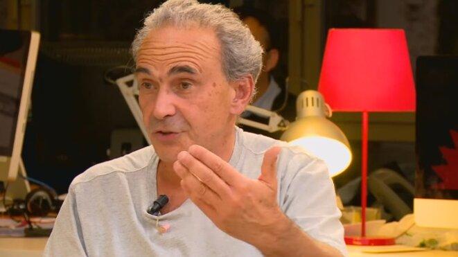 Michel Feher, invité à Mediapart pour débattre avec Yanis Varoufakis.