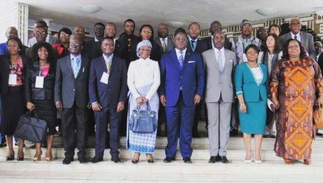 GABON-PALME DURABLE POUR UN AVENIR DURABLE- le Premier ministre ISSOZE Ngondet présent aux assisses du TFA 2020