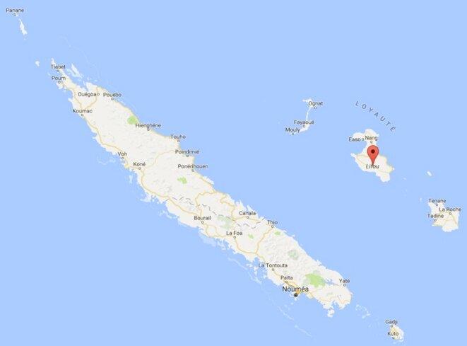 Île de Lifou, en Nouvelle-Calédonie