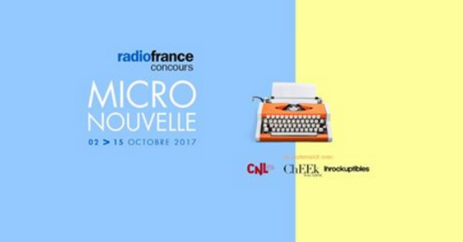 Concours Micro nouvelle - Radio France