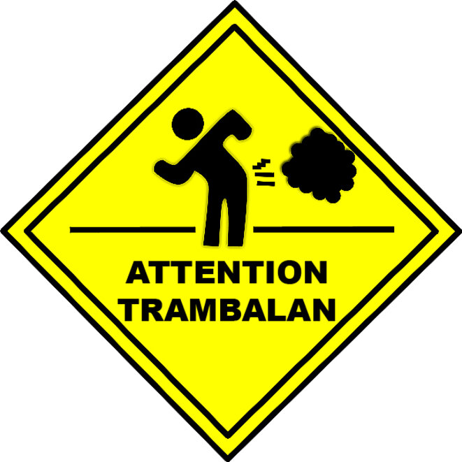 attention-trambalan