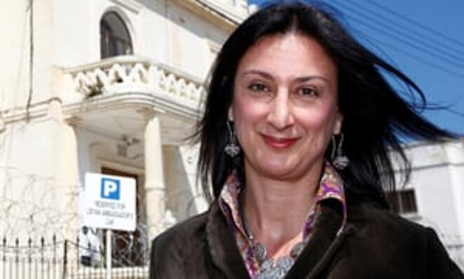 Daphne Caruana Galizia © The Guardian