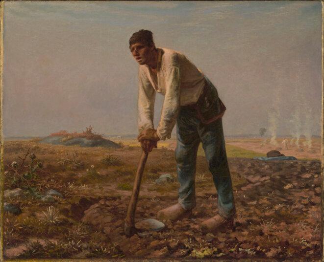 """L""""homme à la houe © The J. Pauk Getty museum"""