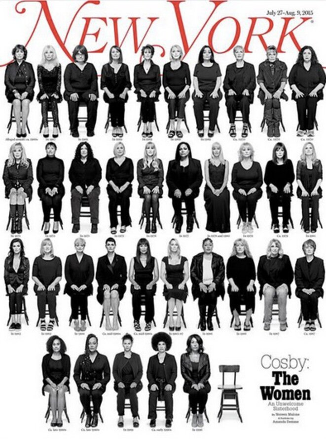 "Portada del ""New York Magazine"" sobre Bill Cosby."