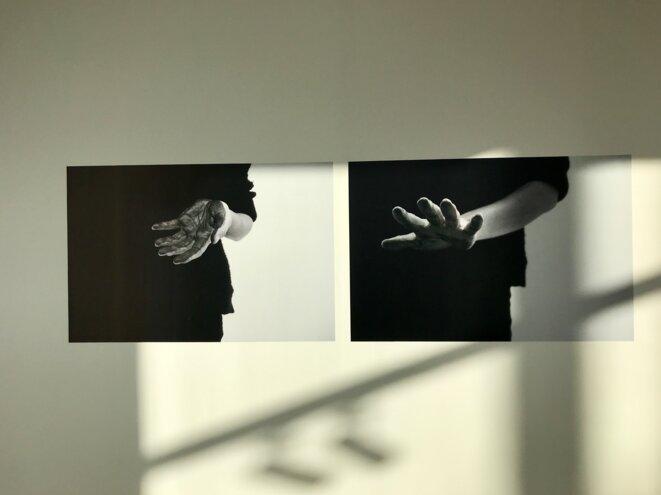 Marianne Mispelaere, No man's land, Biennale JCE, Beffroi de Montrouge © Guillaume Lasserre