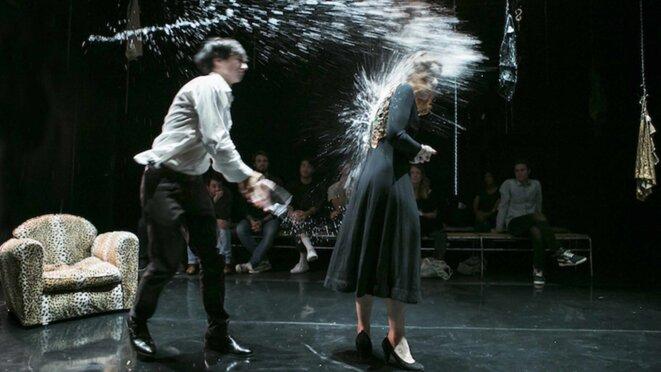 Démons mes par Lorraine de Sagazan au Monfort-Théâtre © Monfort-Théâtre