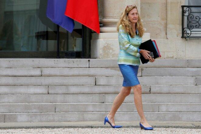 Nicole Belloubet, ministre de la justice, en juillet 2017. © reuters