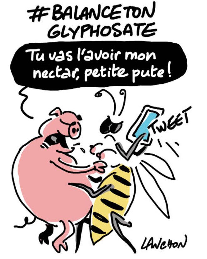 #balancetonglyphosate © Agnès Lanchon