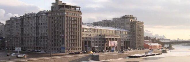 La Maison du Gouvernement ou Maison du Quai, ensemble construit face au Kremlin