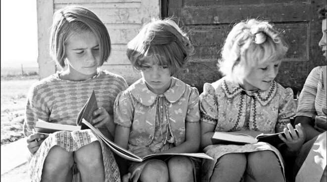 [Photo Dorothea Lange]