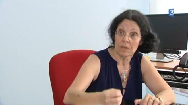Dr Geneviève Macé © Capture d'écran FR3