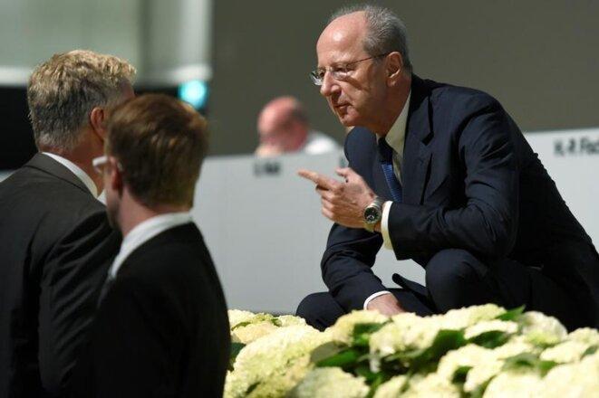 Volkswagen supervisory board chairman Hans Dieter Pötsch. © Reuters