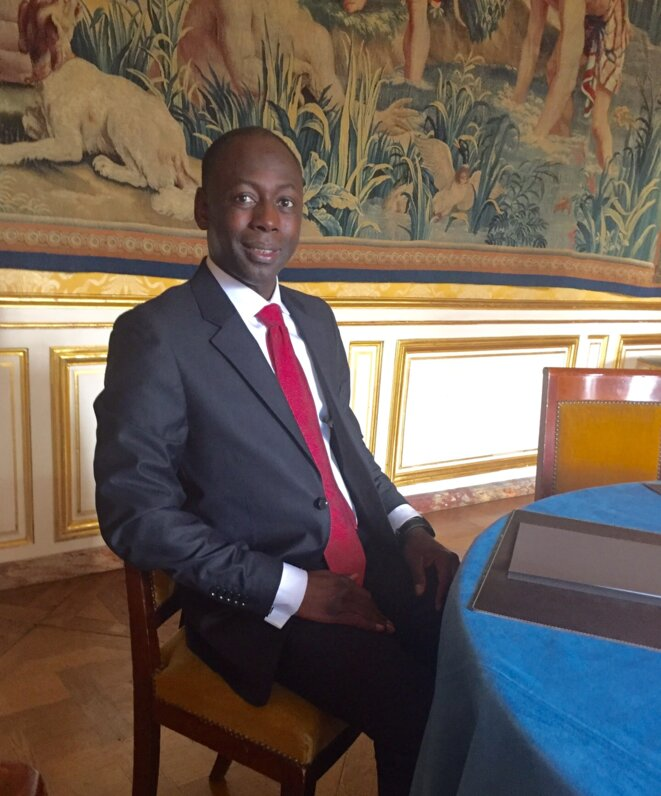Dr Abdoulaye Diagana. Hôtel Matignon.