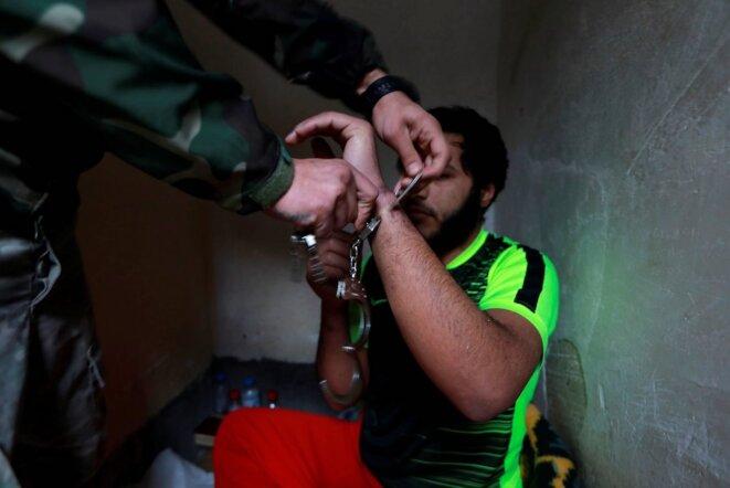 Un membre de l'État islamique détenu dans une prison irakienne © Reuters